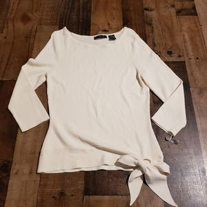 S ALC Side Tie Sweater